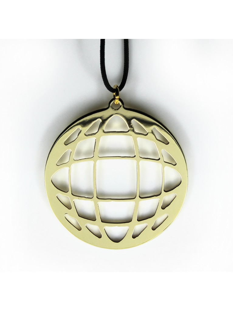 """""""ASTROLABE"""" GOLD NECKLACE"""