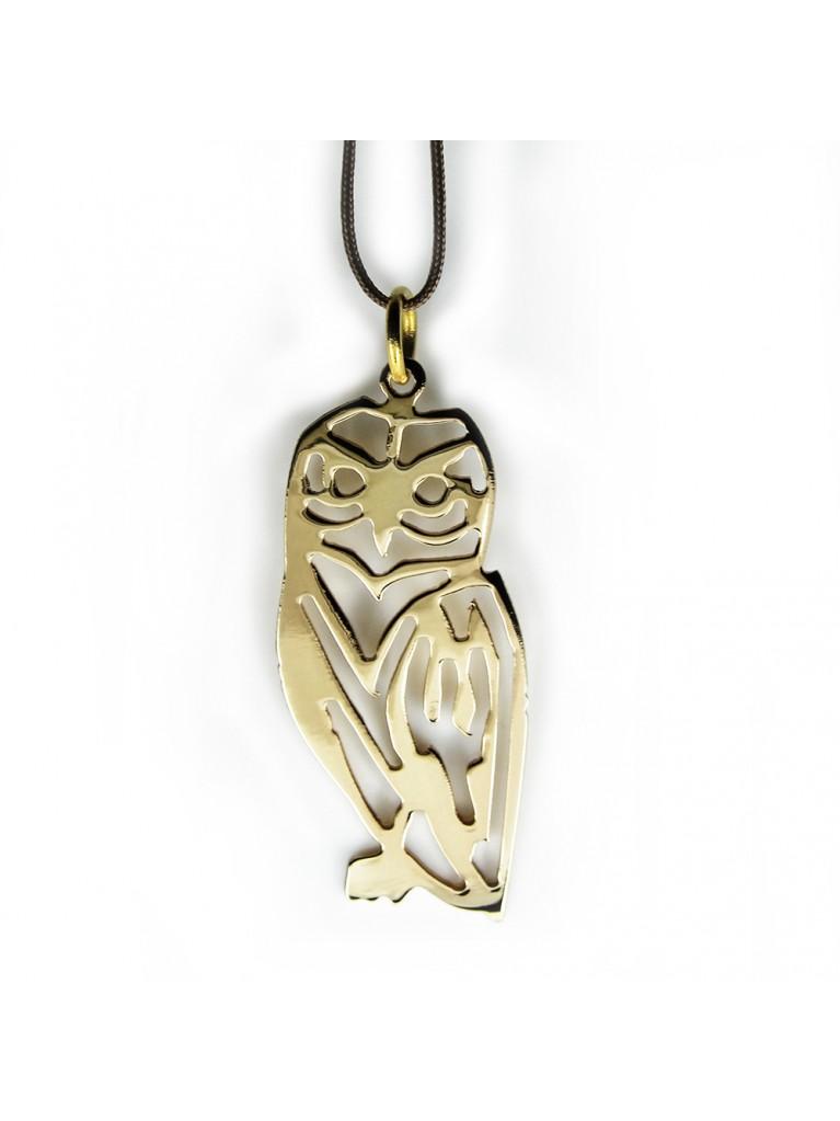 """""""SOFIA"""" GOLD NECKLACE (OWL)"""