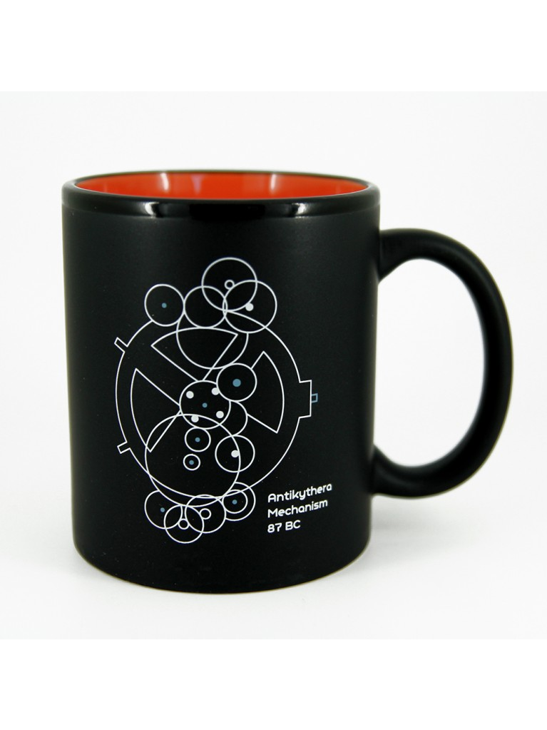 BLACK MUG - ANTIKYTHERA MECHANISM