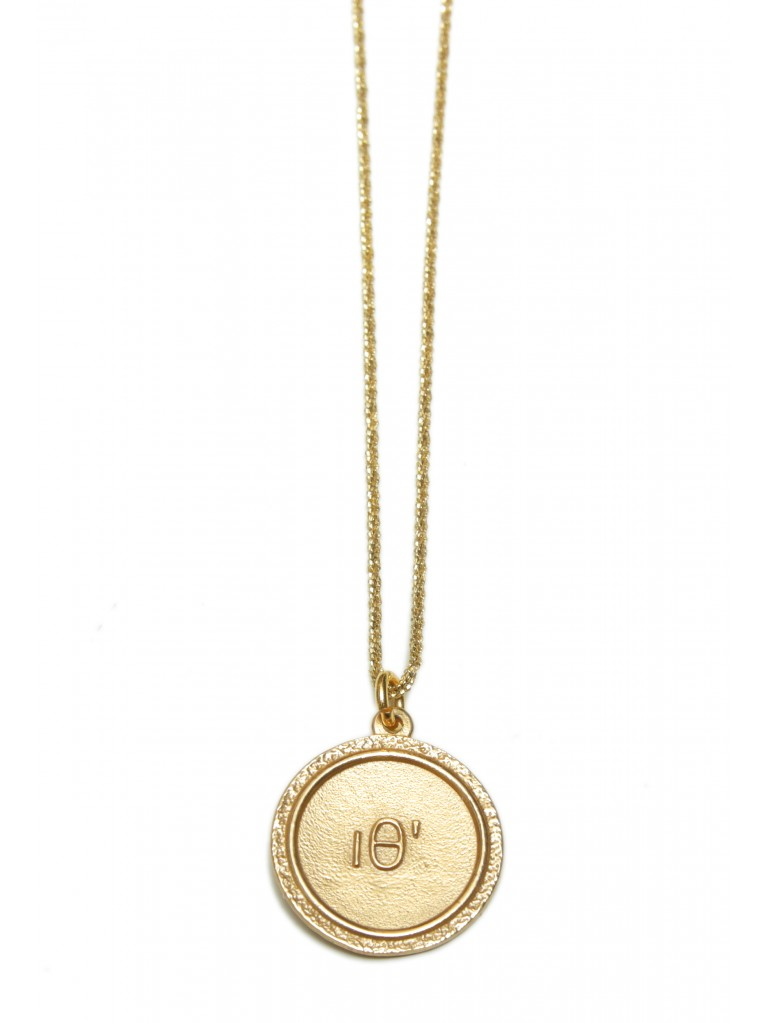 """SILVER NECKLACE """"BEE"""" GOLD-PLATED"""